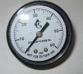 Pressure Gauge, Back Mount
