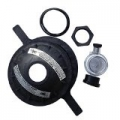 "Pentair Kit Closure, 8-1/2"" btr. thread, Black"